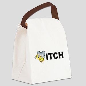 bitch2 Canvas Lunch Bag