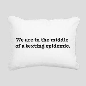 teepe Rectangular Canvas Pillow