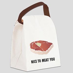 hotdog3 Canvas Lunch Bag