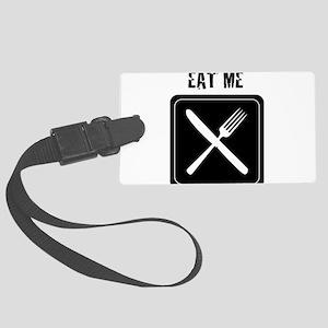 EAT ME Large Luggage Tag