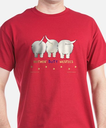 Nothin' Butt Westies Red T-Shirt
