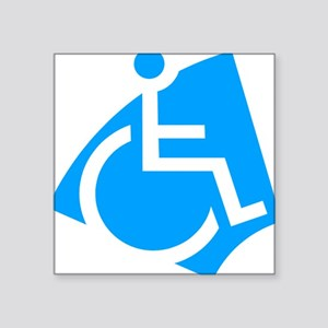 "handicap Square Sticker 3"" x 3"""