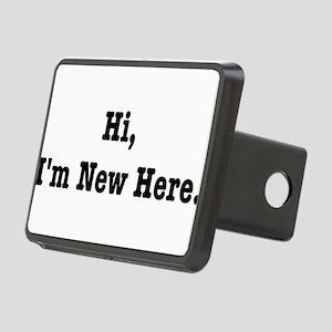 Hi, Im New Here. Rectangular Hitch Cover