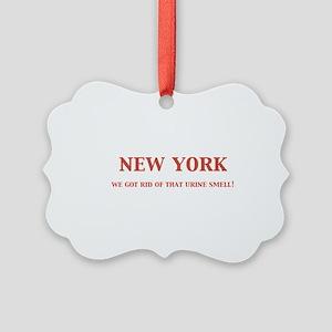 newyork Picture Ornament