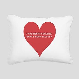 Heart-7 Rectangular Canvas Pillow