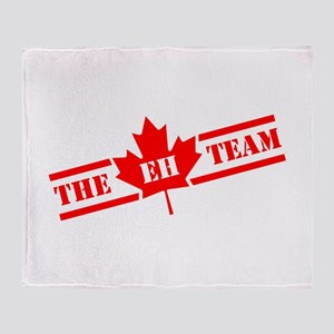The Eh Team Throw Blanket