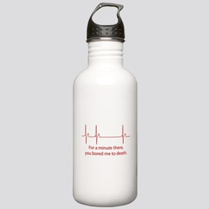 For A Minute There Stainless Water Bottle 1.0L