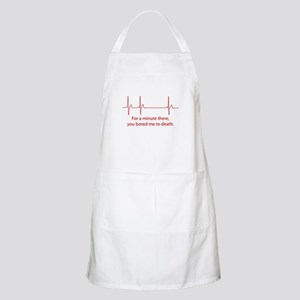 For A Minute There Apron