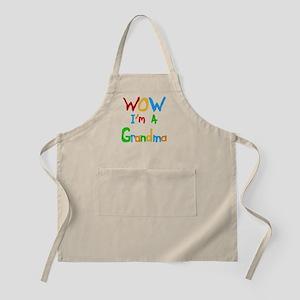 WOW I'm a Grandma Apron
