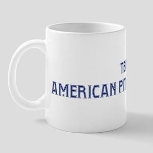 Team American Pit Bull Terrie Mug