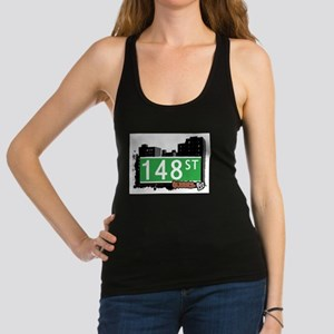 148 STREET, QUEENS, NYC Racerback Tank Top