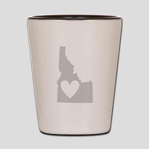 Heart Idaho Shot Glass
