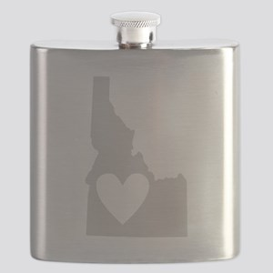 Heart Idaho Flask