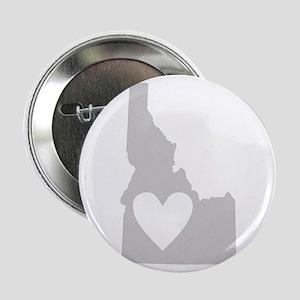 """Heart Idaho 2.25"""" Button"""