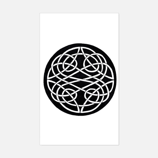 Celtic Knot 28 Rectangle Decal