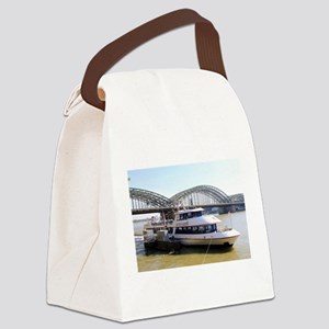 Hohenzollern Bridge, Cologne, Ger Canvas Lunch Bag