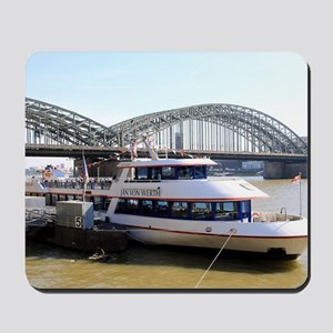 Hohenzollern Bridge, Cologne, Germany Mousepad