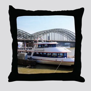Hohenzollern Bridge, Cologne, Germany Throw Pillow