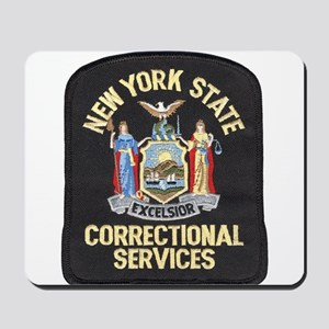New York Corrections Mousepad