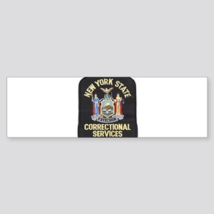 New York Corrections Bumper Sticker