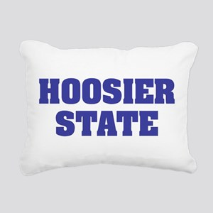 Indiana State Nickname Rectangular Canvas Pillow