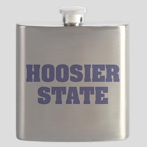 Indiana State Nickname Flask