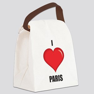 I love Paris Canvas Lunch Bag