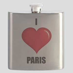I love Paris Flask