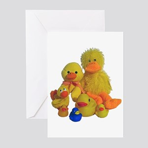 Bunch of Ducks Greeting Cards (Pk of 10)