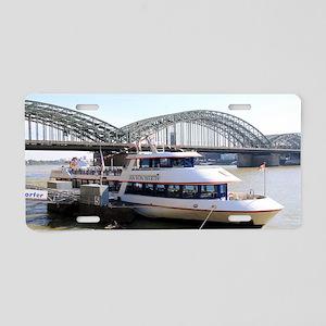Hohenzollern Bridge, Cologn Aluminum License Plate