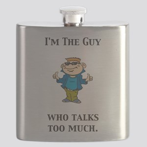 Im the guy who talks too much Flask