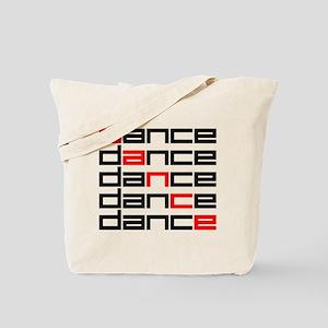 Dance! Red Tote Bag