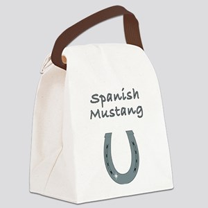 spanish mustang Canvas Lunch Bag
