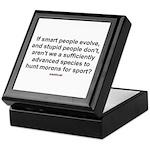 Hunt Morons Keepsake Box