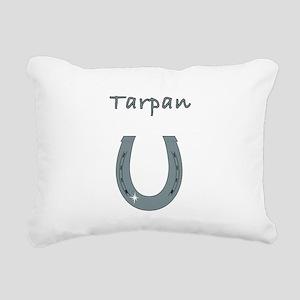 tarpan Rectangular Canvas Pillow