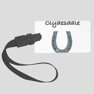 clydesdale Large Luggage Tag