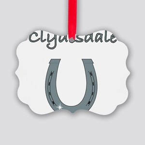 clydesdale Picture Ornament