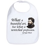 Bizet Music Quote Bib