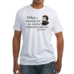 Bizet Music Quote Fitted T-Shirt