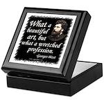 Bizet Music Quote Keepsake Box