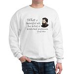 Bizet Music Quote Sweatshirt