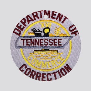 Tennessee Correction Ornament (Round)