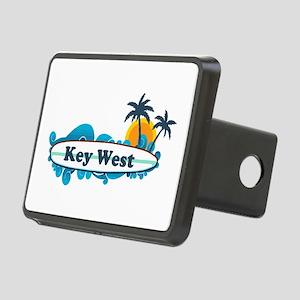 Key West - Surf Design. Rectangular Hitch Cover