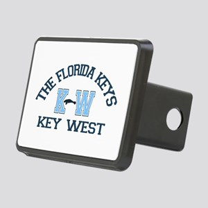 Key West - Varsity Design. Rectangular Hitch Cover