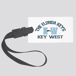 Key West - Varsity Design. Large Luggage Tag