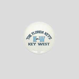 Key West - Varsity Design. Mini Button