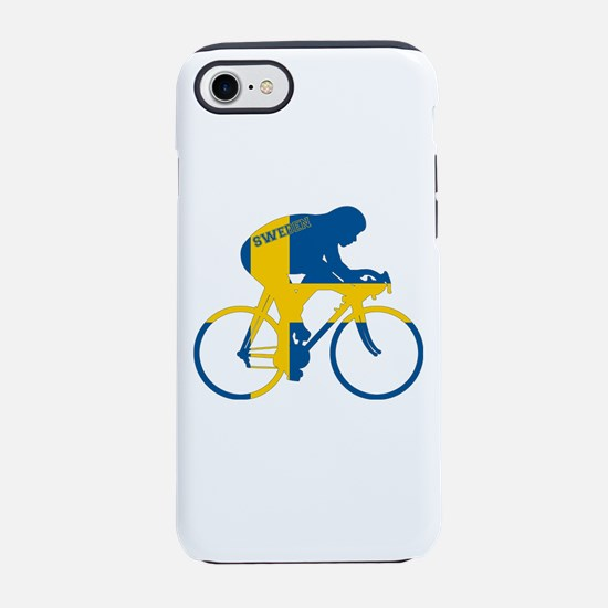 Sweden Cycling iPhone 7 Tough Case