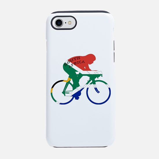 South Africa Cycling iPhone 7 Tough Case