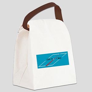 Mile Canvas Lunch Bag