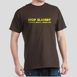 Stop Slavery Dark T-Shirt
